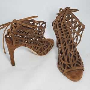 Zara Basic Collection Brown Heels